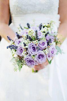 Lavender Rustic And Vintage - Inspired Bride