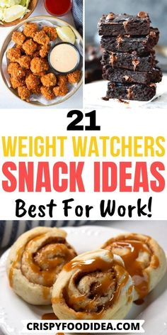 Snacks For Weight Loss, Weight Watcher Snacks, Weight Watchers Breakfast, Weight Watchers Diet, Weight Watchers Chicken, Simple Healthy Snacks, Healthy Snack Options, Healthy Eating, Ww Recipes