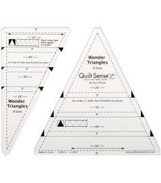 Quilt Sense Wonder TrianglesQuilt Sense Wonder Triangles,