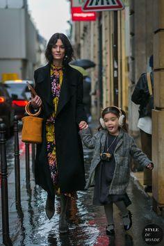 Paris Fashion Week Fall 2017 Street Style: Hedvig Sagfjord Opshaug
