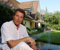 Udo Jürgens, Musiker bei ihm zu Hause, bei seiner Villa Zumikon.