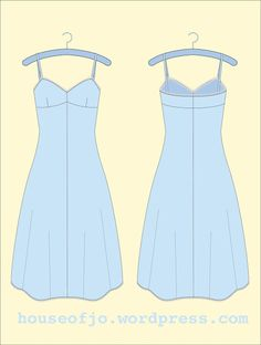 1940s Free Slip or Nightgown Pattern for SEW MAGAZINE created by House of Jo