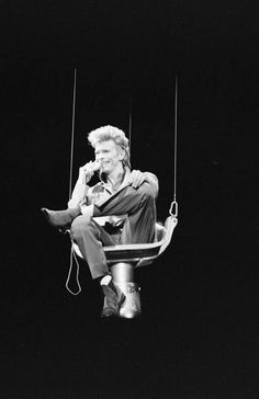 David Bowie. °. I remember so well. watching him descend from up high on the Stage at Wembley. Ever lasting Memory. Miss you Already