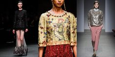 Givenchy, Dolce & Gabbana, No. 21 / Images courtesy of Style.com