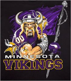 Minnesota Vikings information The Minnesota Vikings are a professional American football team based in Minneapolis, Minnesota. The Vikings j. Minnesota Vikings Football, Vikings Game, American Football, Football Team, Football Stuff, Football Football, Football Field, Minneapolis, Viking Baby