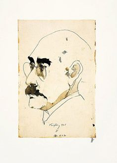 Horst Janssen/ Farboffset/ 1991/ Neun Köpfe /Rudyard Kipling  /handsigniert in Antiquitäten & Kunst, Grafik, Drucke, Originaldrucke 1950-1999   eBay!