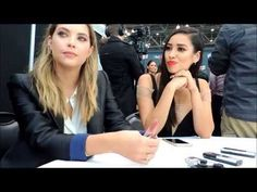 Ashley Benson & Shay Mitchell Talk Pretty Little Liars At New York Comic Con 2015 - http://maxblog.com/7536/ashley-benson-shay-mitchell-talk-pretty-little-liars-at-new-york-comic-con-2015/