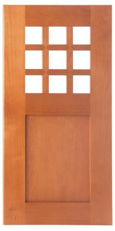 Bellmont Cabinets - Style F Wood Frame for Glass Option - Glass Not Included