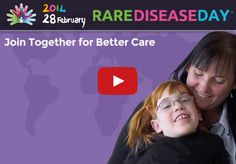 Scene from Rare Disease Day 2014 video