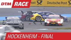 Paffett and Molina Crash  - DTM Hockenheim - Finale 2015 // Gary Paffett and Miguel Molina are involved in a spectacular crash.  Gary Paffett und Miguel Molina crashen zusammen.