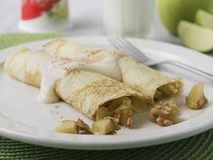 Apple Crisp Crepes