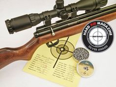 Benjamin Discovery PCP Air Rifle Test Review .177 Caliber, HAM Review