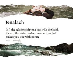 Tenalach, a word used in the hills and mountains in the west of Ireland, allows one to literally hear the earth sing. (submitted by tenalach...