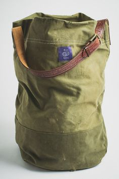 Res Ipsa Vintage Military Canvas Tote