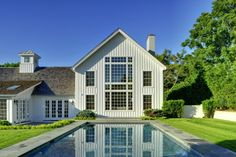Pool for East Hampton Yankee Barn Home