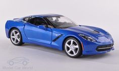 Chevrolet Corvette Stingray (C 7), metallic-blau