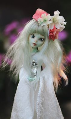 Garden Goddess OOAK Monster High Doll by TeaLeafsCreations on Etsy