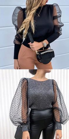 Women s fashion blouses fashion casual style and comfortable material you will love it tops jumpsuits and dresses you can options blouses outfits women fashion tops tendances mode hiver 2019 Fashion 2020, Look Fashion, Hijab Fashion, Fashion Outfits, Fashion Blouses, Womens Fashion, Fashion Design, Woman Outfits, Fashion Ideas