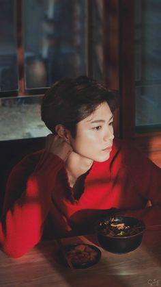 박보검 < 바자 차이나 2016년 5월호 > 보정 [ 출처 : 로고 , 2차 출처 : 디시 박보검갤러리 ]