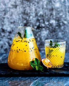 Passion Fruit Cordial heinstirred.com