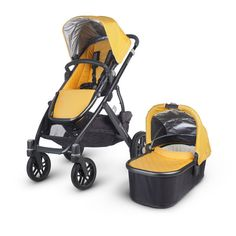 UPPAbaby VISTA Stroller Bassinet, the most complete and versatile pram from UPPABaby. You can use this pram from newborn right up to toddler with 23kgs in weight!