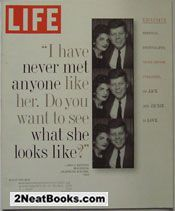 Life Magazine August 1995 -  Jackie and J.F.K