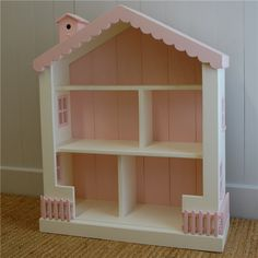 English Farmhouse Furniture Cottage Dollhouse Bookcase
