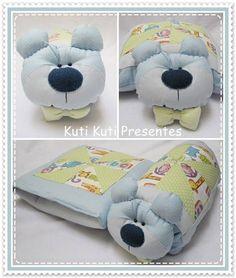 Kit quillow ( travesseiro e almofada)