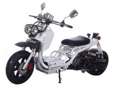 "SCO044+50cc+Scooter+2013+New+Model,+Stretched,+Low+and+Fat+Design,+Automatic+Transmission,+Front+Disc/Rear+Drum+Brake,+12""+Aluminum+Wheels,+Metallic+Paint,+Performance+Muffler+ +$1699.00"