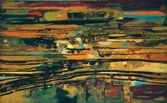 Pôr do Sol, tela de Maria Helena Vieira da Silva: na mostra Vieira da Silva/Arpad Szenes e Rupturas no Espaço da Arte Brasileira