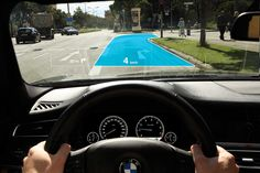 BMW dashboard HUD concept