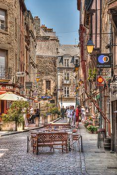 Dinan, Normandie, Bretagne_ France