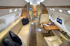 78 british private jets up for sale — baroque lifestyle - travel, luxury hotels, dining, trends Luxury Jets, Luxury Private Jets, Private Plane, Luxury Hotels, Jet Aviation, Executive Jet, Private Flights, Aircraft Interiors, Luxury Lifestyle Fashion