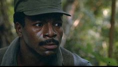 "This is Carl Weathers in ""Predator"":"