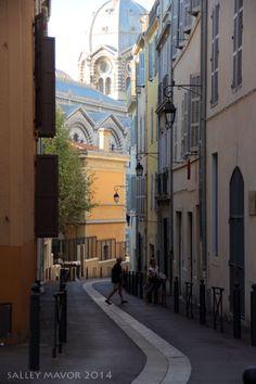 Street in Marseille, France