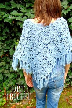 8467c64005 HANDMADE CROCHET Passion, Pain & Pleasure Dlaczego warto dziergać Crochet  Poncho, Crochet Top,