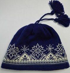 Жаккардовый узор для шапочки