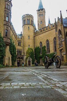 Courtyard - Hohenzollern castle - Germany