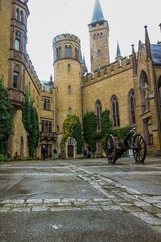 Courtyard - Hohenzollern castle - Germany