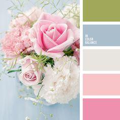 celeste pálido, celeste pastel y rosado, celeste y gris, celeste y rosado, colores suaves para una boda, elección del color para una boda, flores para boda, gris y celeste, gris y rosado, matices del rosado pastel, rosado claro, rosado grisáceo, rosado melocotón, rosado pálido, rosado y celeste,