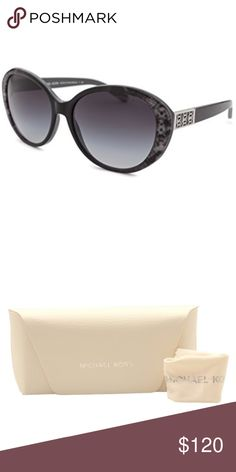 Authentic Michael Kors Puerto Banus Sunglasses Authentic Michael Kors Puerto Banus Sunglasses MK6012 302011, Grey Snake, Grey Gradient. Michael Kors sunglasses are renowned for their sleek contemporary styling, high quality and fine craftsmanship. Discreet Michael Kors signature on the temples - Dimensions:57mm-16mm-135mm- Michael Kors etched lenses Michael Kors signature take on the classic cateye frames- Snake print lens corners - Silver tone trims and temples BRAND NEW WITH MK CASE…