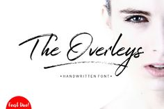 The Overleys font by Fargun Studio on @creativemarket
