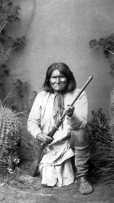 Geronimo received his name from people praying to their St.Jerome as they saw the Apache leader come their way.