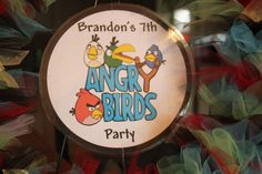 "Photo 27 of 92: Angry Birds / Birthday ""Brandon's 7th Angry Birdsday"" 