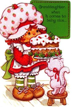 Strawberry Shortcake Characters, Vintage Strawberry Shortcake Dolls, Strawberry Shortcake Cupcake, Strawberry Art, Rainbow Brite, Holly Hobbie, Oldies But Goodies, Illustrations, Paper Dolls