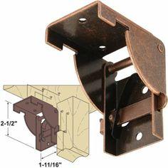 Platte River 937418, Hardware, Table, Folding Table Hardware, Folding Wooden Leg Fitting, 1 Pair - Amazon.com