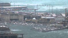 trieste bora   Bora a Trieste 200 all'ora - YouTube