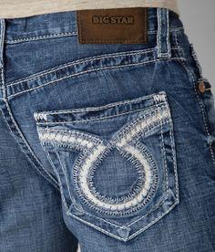 e85050b46fe Mens Big Star Vintage Jeans Low Rise Union Slim Distressed 30 31 32 33 34  36 38 #BIGSTAR #Classic