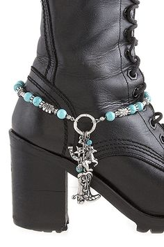 KARMAS CANVAS WESTERN STYLE CHARM BOOTS CHAIN ANKLET *** You can get additional details at the image link. (This is an affiliate link and I receive a commission for the sales)