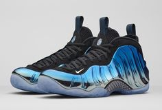 """Here Are the Official Images and Release Details for the """"Blue Mirror"""" Foamposites"""